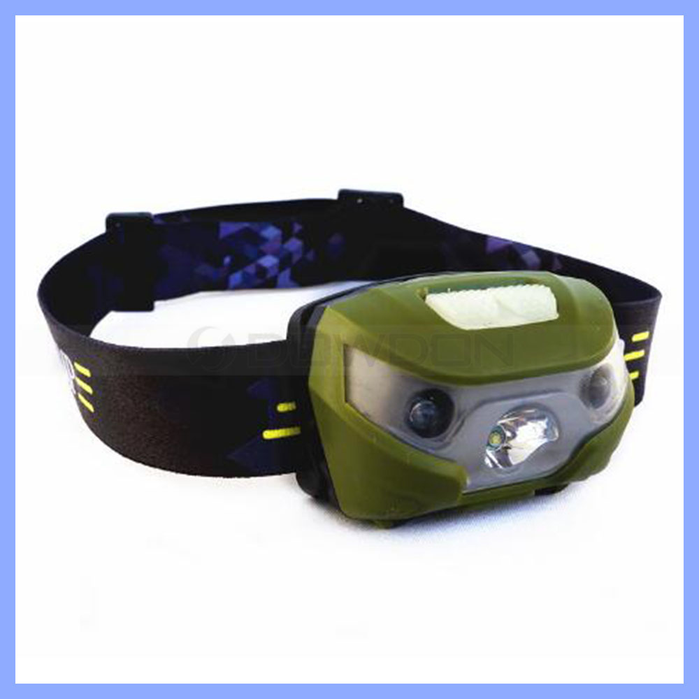 High Power XPE Q5 LED Rechargeable Headlamp Torch Camping Emergency Headlight 1300mAh Rechargeable Battery Hunting Head Light