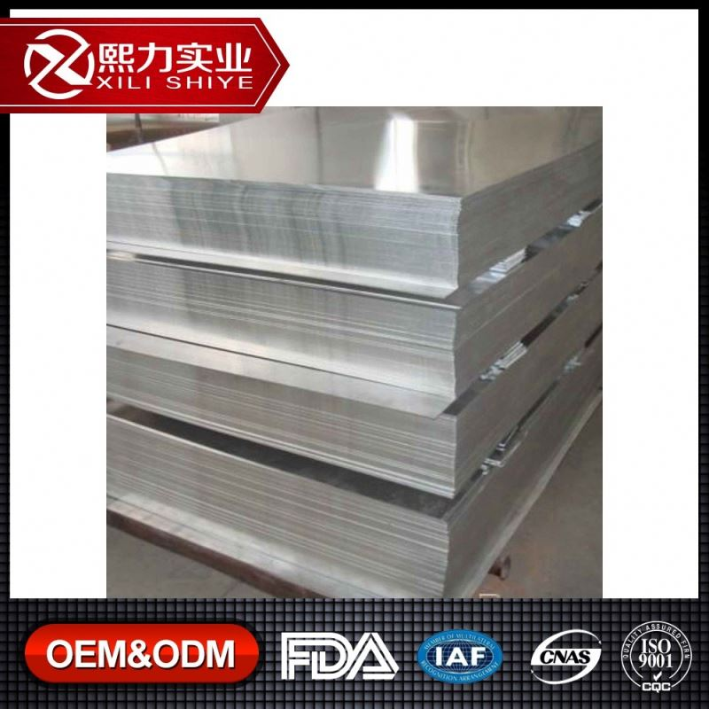 Pre-Stretched 10mm Thick Aluminum Reflective Sheet China Aluminium Supplier