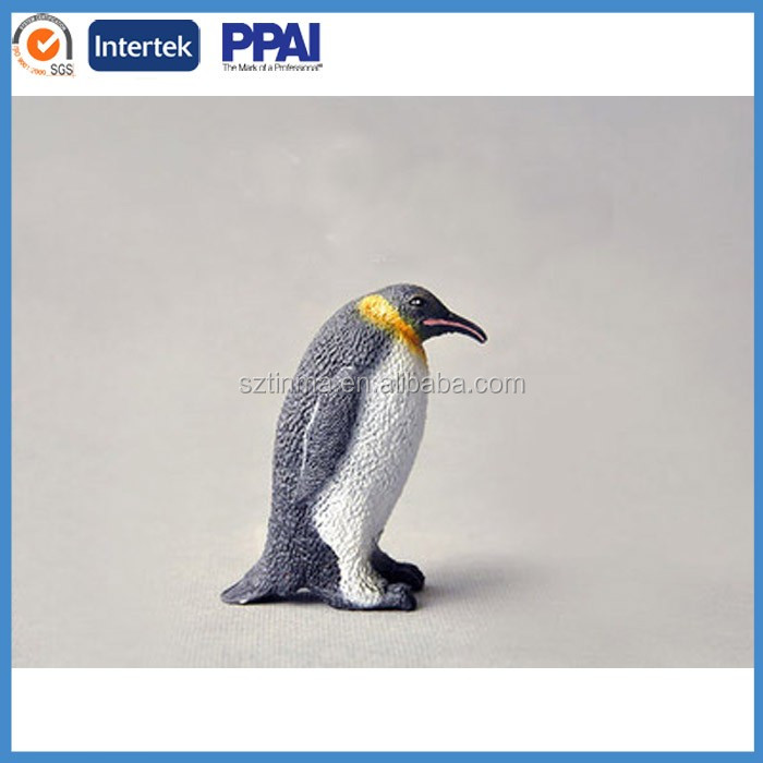 Custom Penguin Baby Animal Toys Plastic Toy Penguins For Sale