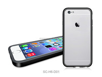 "wholesale TPU Hybrid Bumper Case for Apple iPhone 6 (4.7"") accept small orders 50pcs"