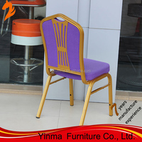 2015 Low price transparency wholesale chateau banquet chairs stackable aluminium hall chair