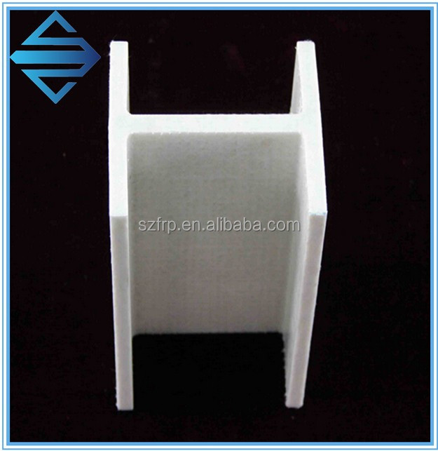 plastic h beams frp i-shape structural beam