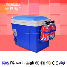 6L AC DC Cute Mini Portable fridge With Belt For Fishing have a seats on top