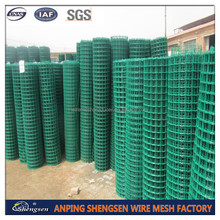 heavy gauge PVC Welded Wire Mesh/pvc coated rabbit cage wire