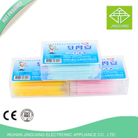 Dental Material Colorful Plastic Tooth Picks
