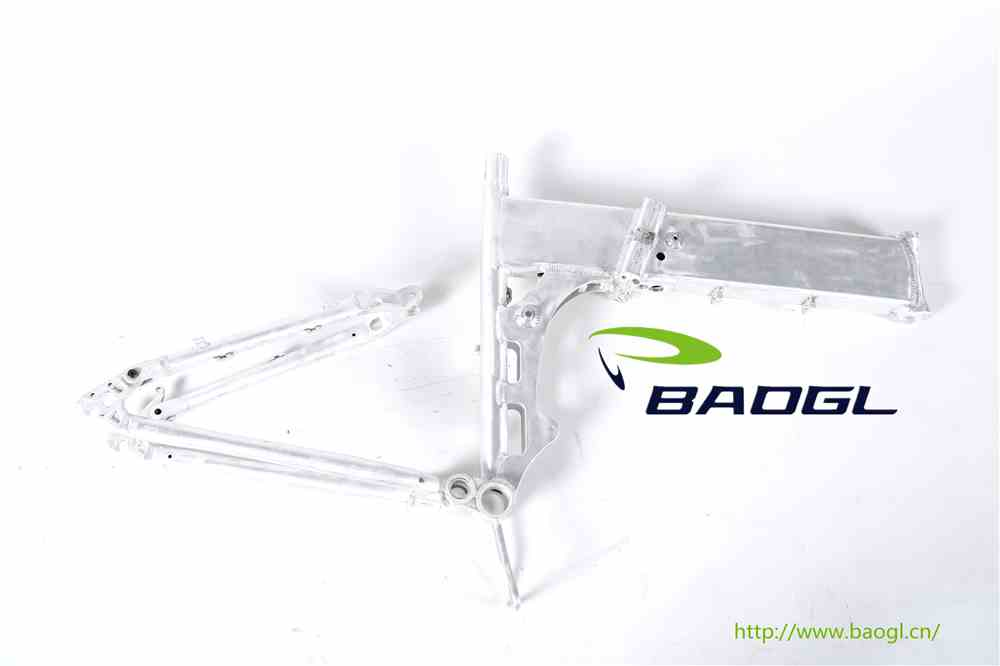 BAOGL bicycle frame for delta recumbent trike