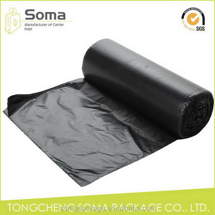 Good quality promotional cheap customized plastic garbage bags