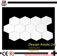 One way plastic white mirror polycarbonate sheet