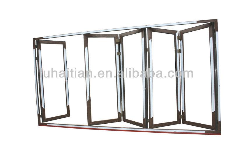 Pvc Horizontal Exterior Bi-fold Door With German Hardware - Buy Pvc Folding DoorPvc Exterior Folding DoorPvc Horizontal Bi-folding Doors Product on ...