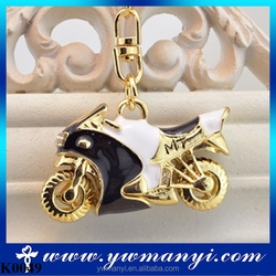 Cool motorcycle model keychain alloy pendant racing cars hangs key chain K0049