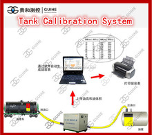 Factory qingdao gas station fuel pump calibration machine/automatic tank calibration system/high accuracy