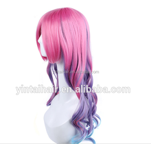 LOL hero alliance wig Miss Fortune synthetic hair wig ombre hair wig