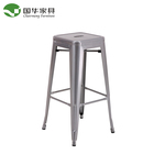 Cheap outdoor industrial vintage chair metal furniture dining restaurant chair