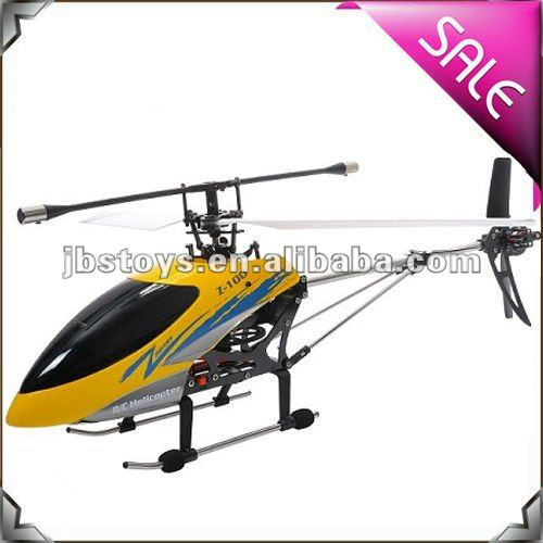 Zr Models 3 Channel Gyro Single Blade Helicopter