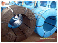 Post tensioning high tensile steel strand wire for prestressed concrete