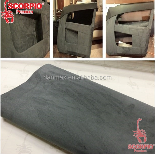 Hot Selling Car Interior Protective Removable Fabric Suede