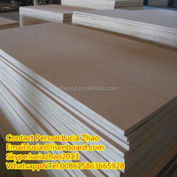Three times hot press bb/bb or bb/cc grade high smooth okoume pine or poplar core plywood for furniture