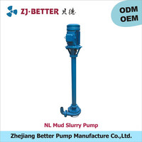 18.5kw NL small mud ash slurry pump used pump