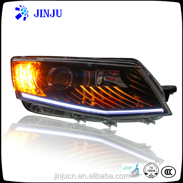 High brightness headlamp assembly for 2014 Skoda Octavia car LED light auto headlight