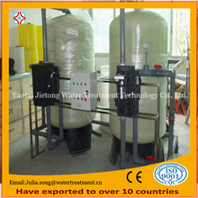 Hard water softener demineralized treatment plant