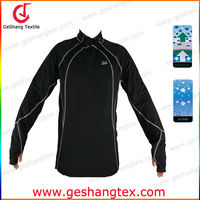 UV protective Dri fit polyester cycling jersey