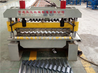 Steel Roofing Tiles Corrugating Iron Tiles Cold Forming Machine/Rolling Forming machine