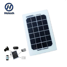 High conversion efficiency reaching 19.5%3w 6v rec solar panels
