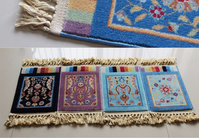 machine washable thick personal indian prayer rug mat