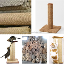 High quality natural sisal fabric for cat scratching posts