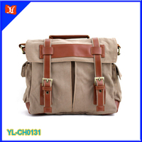 High quality and durable canvas camera bag, mens messenger bag, waterproof messenger bag