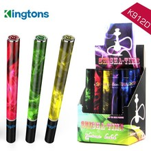 2016 new best selling products colorful and flavorful shisha time 500 puffs E-Hookah e cigarette