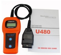 OBDII Diagniostic Enclosure u480 can obd ii scanner