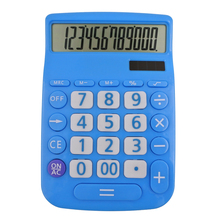 Y-1322S small size dual power 12-digits customized calculator