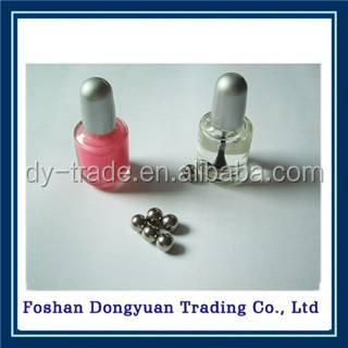 No-Magnetic stainless steel ball used for nail polish bottle