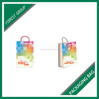BEAUTIFUL DESIGN PROMOTION MAILER PACKING BAGS WITH HANDLES