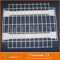 Store Stacking Shelvs Metal Wire Decking, Pallet Rack Steel Grid Deck