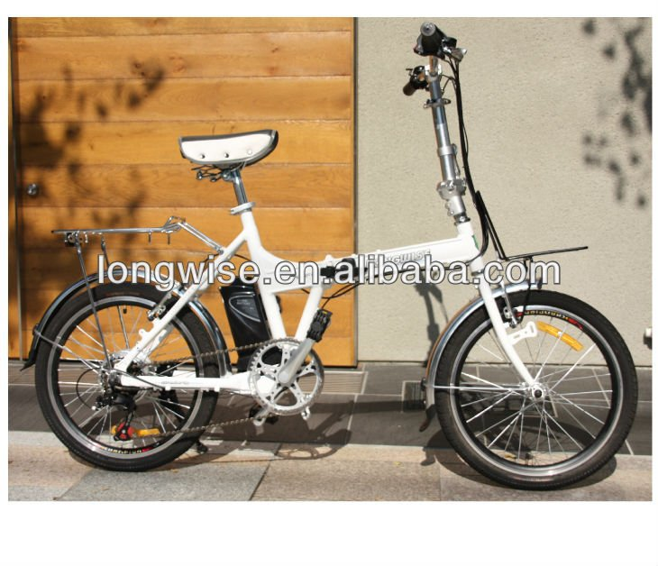 EU moped folding bicycle EN15194 LWEB-L2004F