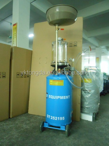 2017 car Oil Sucking Machine Air Operated Oil Collecting and Draining Machine Tongda HC-2097 pneumatic collecting waste oil