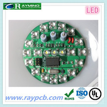 2015 Professional Round SMD LED PCB board with UL&ROHS certificates