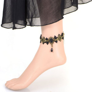 American Gothic fashion lace Anklet