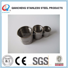 stainless steel wire rope ferrule rubber pipe sleeves
