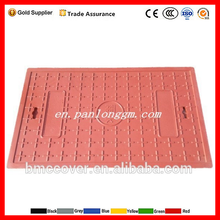 Plastic Composite square electrical manhole covers and telecom manhole cover