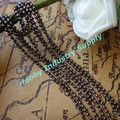 2.4mm gunmetal Metal Bead Chain for jewelry