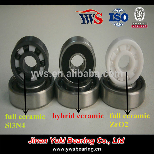 China Factory 6000 6200 Si3N4 ZrO2 full Ceramic bearings with good price