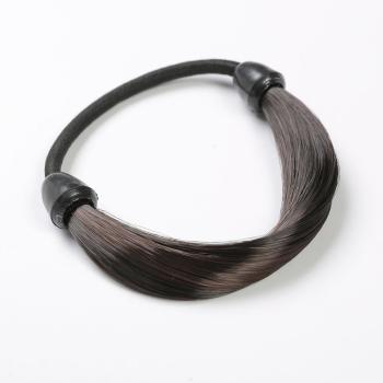 Wholesales Synthetic Elastic Hair Braided Hair Ties Elastic Hair Bands for Girls and Women