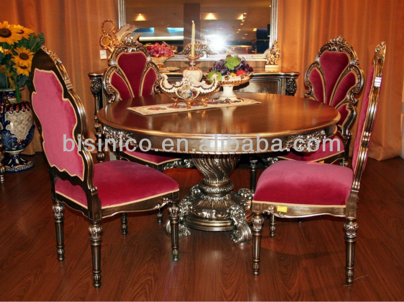 paris royal dining room furniture,antique hand carved dining room
