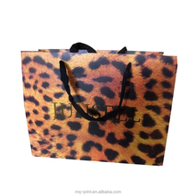 Promotional Luxury OEM Design gold paper gift bag paper bag