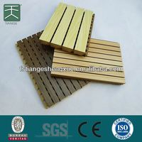 Light weight And Colorful Waterproof Wpc Acoustic Wall And Ceiling Panel For Interior Ceiling Decoration