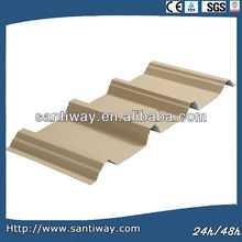 Colored metal roof tile /steel sheet for house construction