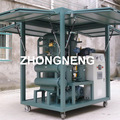 Vacuum oil refinery plant used transformer oil cleaning system